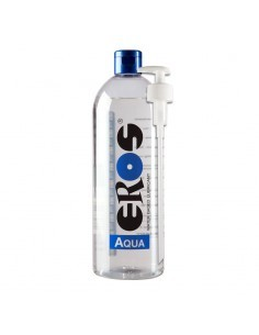 Lubricante Base Agua Aqua Botella dispensador 1000 ml