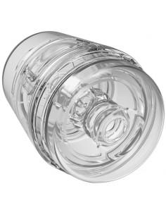 Masturbador Masculino Pop Off Optix Crystal Clear