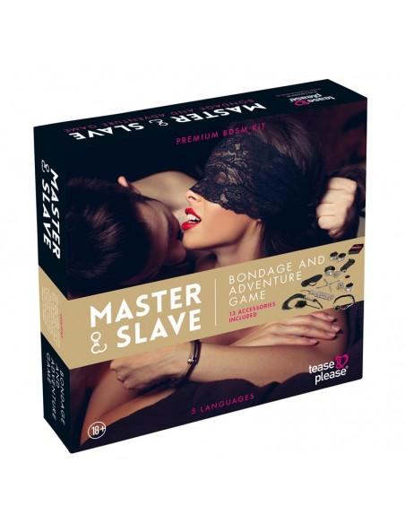 Master Slave Juego Bondage Beige