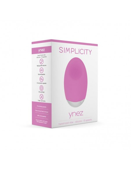 Shots Simplicity Vibrador de Mano YNEZ Rosa