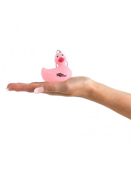 I Rub My Duckie Llavero Sin Vibracion Rosa