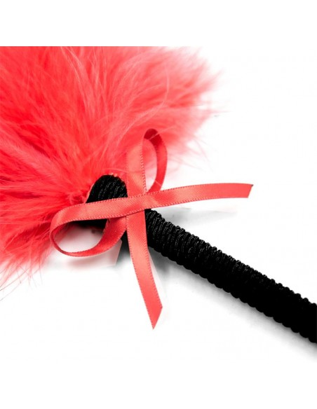 Plumero con Lazo 25 cm Rojo