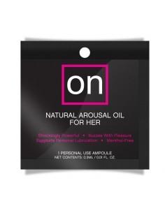 ON Arousal Oil Estimulante Femenino Original Monodosis 03 ml
