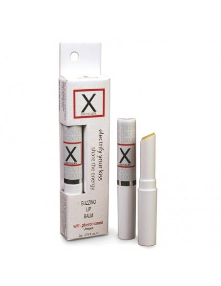 X On The Lips Balsamo Estimulador Vibrador para Labio Original 2 gr