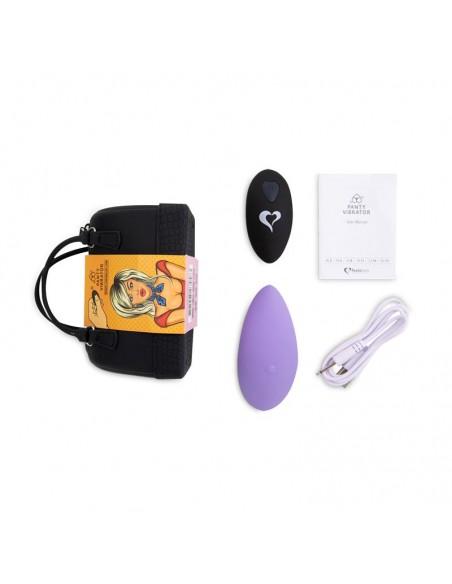 Panty Estimulador de Braguita con Control Remoto Purpura