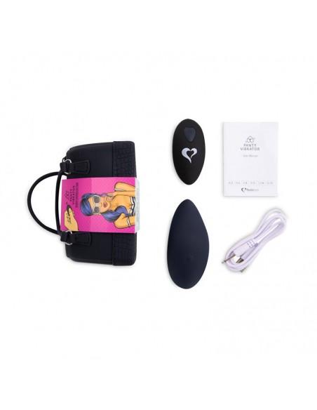 Panty Estimulador de Braguita con Control Remoto Negro