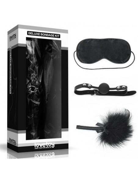 Kit Bondage Deluxe Negro