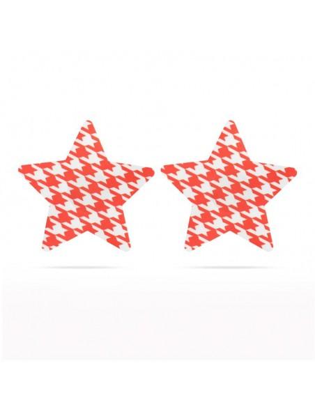 Pack Pezoneras Estrella Rojo y Negro