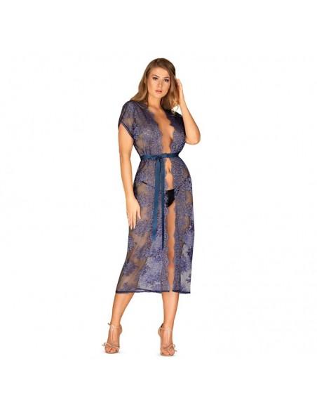 Flowlace Kimono Azul Turquesa