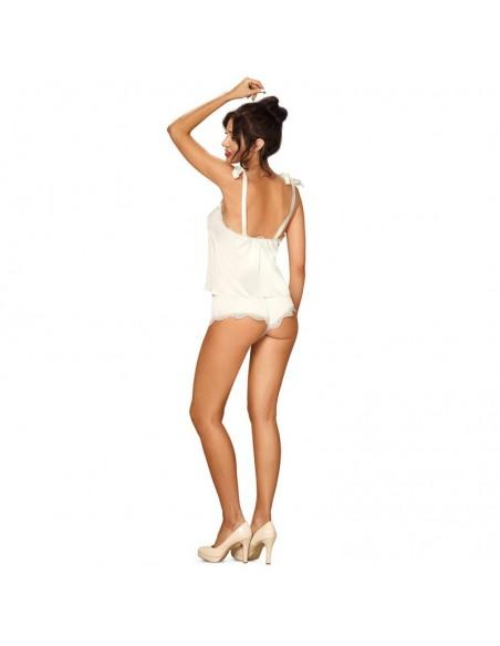 Prima Neve Shortama Set Top y Shorts Blanco