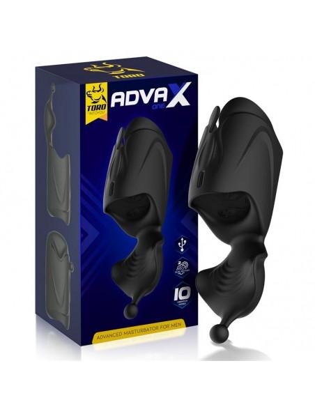 AdvaX One Masturbador Doble Motor Estimulacion Multiple Flexible USB
