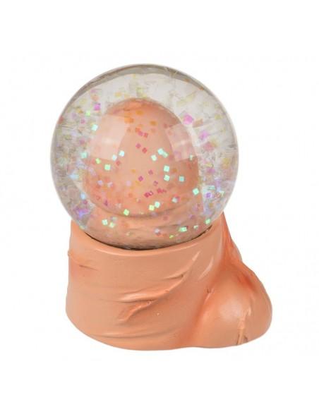Bola de Nieve Pene con Purpurina 65x5 cm