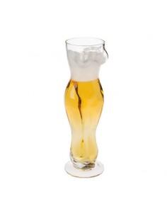 Jarra de Cristal Torso Mujer 500 ml