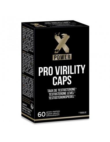 X Power Pro Virility Aumento de Virilidad 60 Capsulas